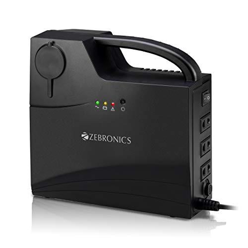 Zebronics ZEB-CU5013 Portable CFL UPS(Black)