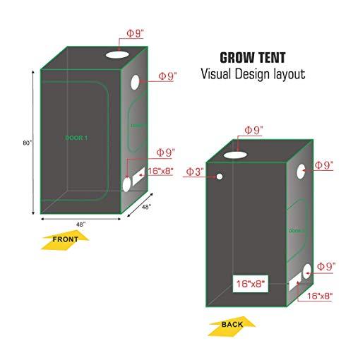TopoLite Grow Tent Kit
