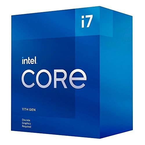Intel Core i7-11700F 11. Generation Desktop Prozessor (Basistakt: 2.5GHz Tuboboost: 4.8GHz, 8 Kerne, LGA1200) BX8070811700F