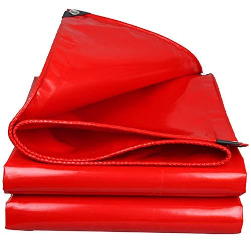 Lona Alquitranada Protección Pesado Paño Del Dosel Cloruro De Polivinilo Clip De Red Tela Más Grueso Impermeable Proteccion Solar Lona De Protección Camión Cubrir Exterior Paño Wai,Red-2.8×2.8m
