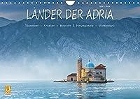 Laender der Adria (Wandkalender 2022 DIN A4 quer): Ansichten aus den Laendern Slowenien, Kroatien, Bosnien und Herzegowina und Montenegro (Monatskalender, 14 Seiten )