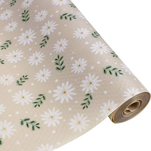 Chingde Schrankpapier Küche, Schubladenauskleidung Antirutschmatte Schubladen Nicht Klebend Schubladeneinlage für Regale Schränke Schubladen Kühlschranke Hause Büro, (30 x 300 cm, Khaki)