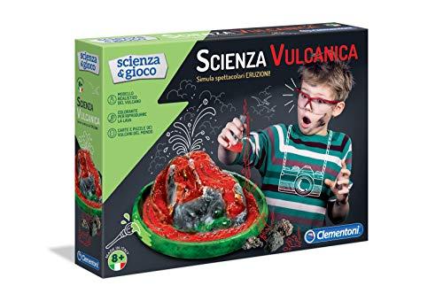 Clementoni- Scienza e Gioco-Eruzioni Vulcaniche, Multicolore, 13995