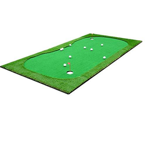 QinWenYan Mini-Fairway-mat, golf, groene kas voor binnen en buiten, sporttoestellen, interieurschommel, praktijk, atletiek actie