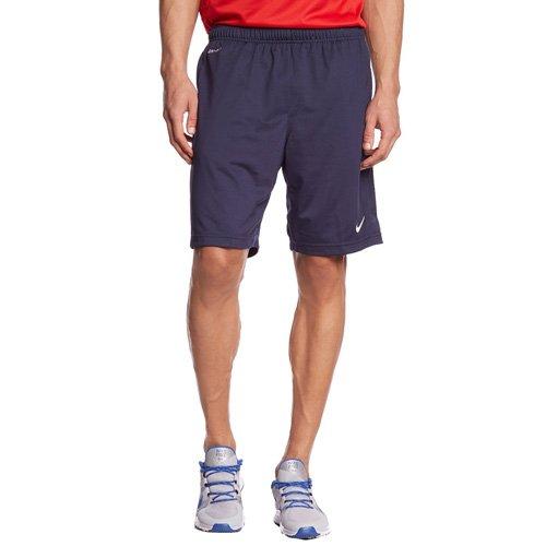 NIKE Shorts Libero Knit Pantalón Corto, Hombre, Negro/Blanco (Obsidian/White), XL
