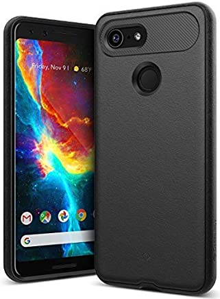 Caseology Vault for Google Pixel 3 Case (2018) - Rugged Matte Finish - Black
