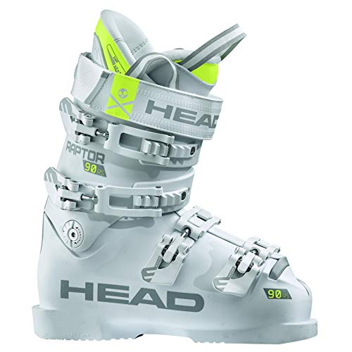 HEAD Raptor 90 RS W White dames skischoenen wit