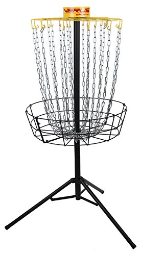 Verus Sports TG460 Regulation Expert Disc Golf Basket, Yellow