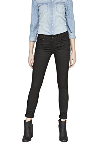 Replay Damen LUZ Skinny Jeans, Black Denim 98, 29W / 30L