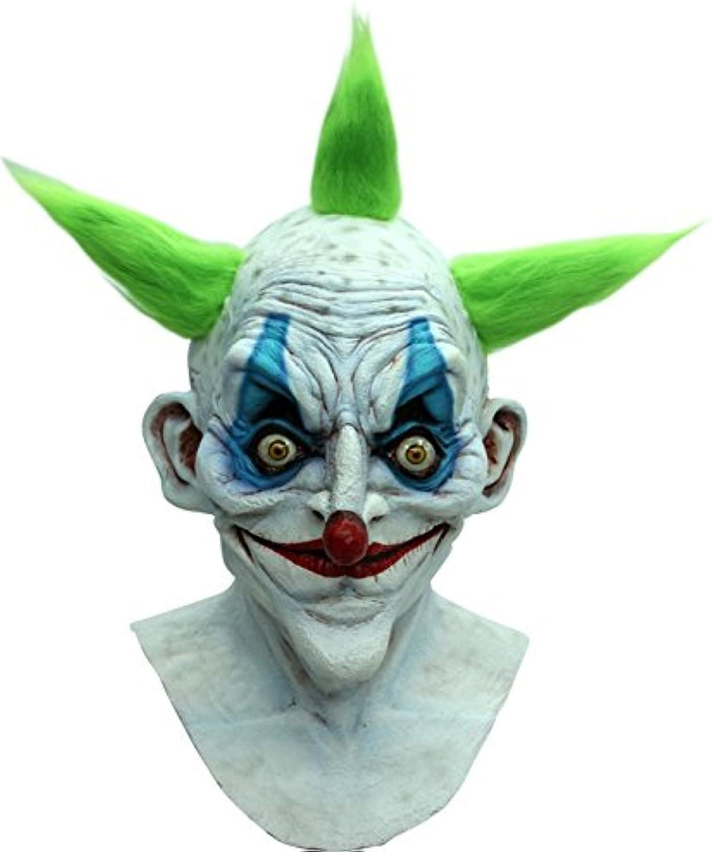 Mask Head & Neck Clown Old Body Part Halloween Prop Headless