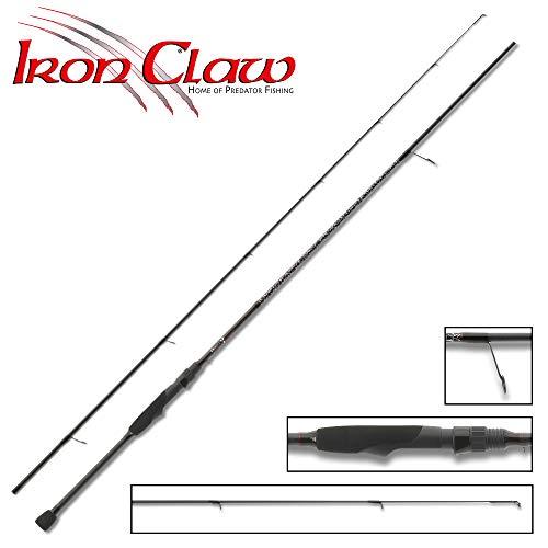 Iron Claw High-V S-602L 1,83m 3-15g - Spinnrute für Barsche & Forellen, Angelrute zum Spinnfischen, Barschrute, Forellenrute
