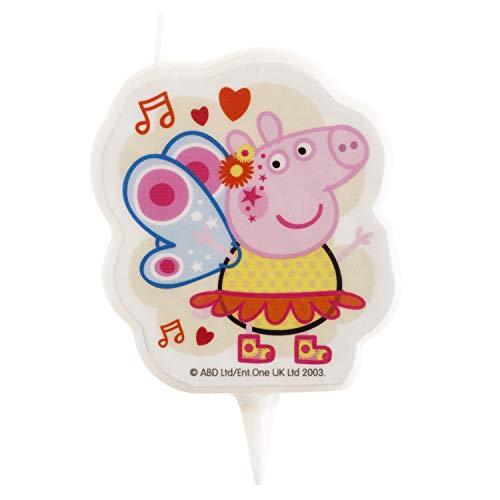 Dekora - Candela di compleanno 2D di Peppa Pig
