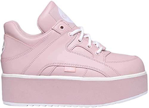 Buffalo Damen 1330-6 Leder Baby Pink Trainer 36 EU