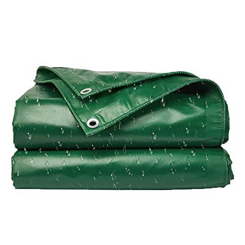 ZXHQ Lona Espesada Impermeable con Ojales 3x6m, Lona Proteccion contra Lluvia Duradera, Lona Pesado Impermeable PVC Durable para Invernadero Al Aire Libre Coche