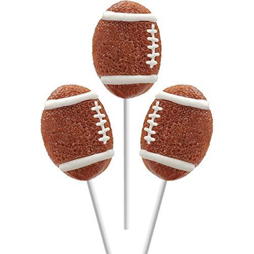 "Football Lollipops Suckers Sports Pops, 2"" Suckers (12-Pack)"