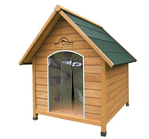 Pets Imperial Extra Large Wooden Sussex Dog Kennel with Removable...