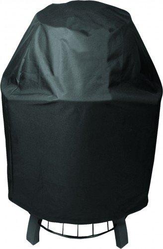 Broil King Schutzhülle für KEG 2000 Grill schwarz Widerstandsfähiges, witterungsbeständiges PVC mit strapazierfähigem Polyestergewebe KEG