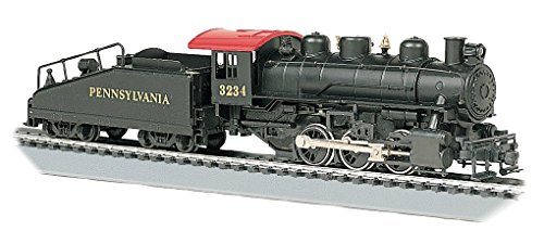 Bachmann Trains - USRA 0-6-0 Locomotive w/SMOKE & SLOPE TENDER - PENNSYLVANIA RAILROAD #3234
