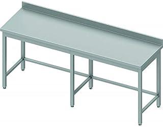 Table Inox Professionnelle - Profondeur 600 - Stalgast - 2500x600