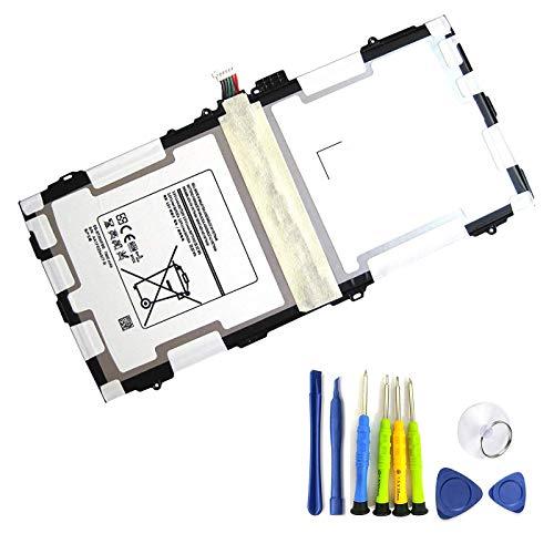BOWEIRUI EB-BT800FBE (3.8V 30.02Wh 7900mAh) Laptop Battery Replacement for Samsung Galaxy TAB S 10.5 Inch EB-BT800FBE SM-T800 T801 T805 AA1F625ES/7-B Series EB-BT800FBU