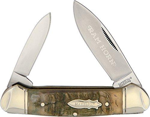 Marbles - Taschenmesser - Rams Horn Canoe - Länge geschlossen: 9.21 cm