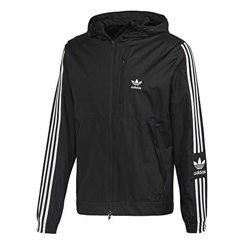 adidas Originals Lock Up WB Chaqueta de Deporte con Capucha, Hombre, Negro (Black), XS
