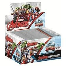 Topps Marvel Avengers Hero Attax - 24 Booster im Display - englisch