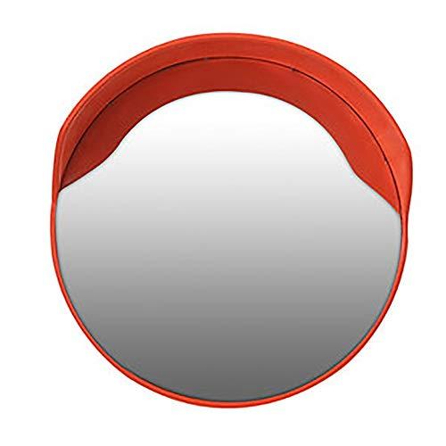 Xiao Jian straatspiegel buiten, groothoeklens, hoekspiegel, gebogen spiegel voor garage, sferische spiegel, convex, diefstalbeveiliging, veiligheidsspiegel