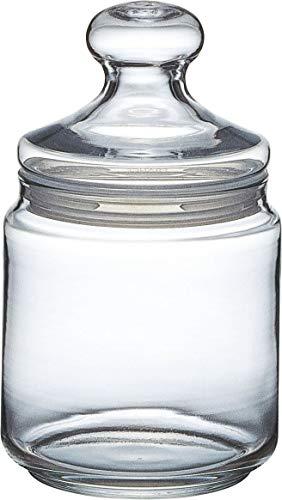 Luminarc ARC 11972 Pot Club Dose mit Deckel, Vorratsglas, Bonbondose, 750 ml, Glas, transparent, 1 Stück