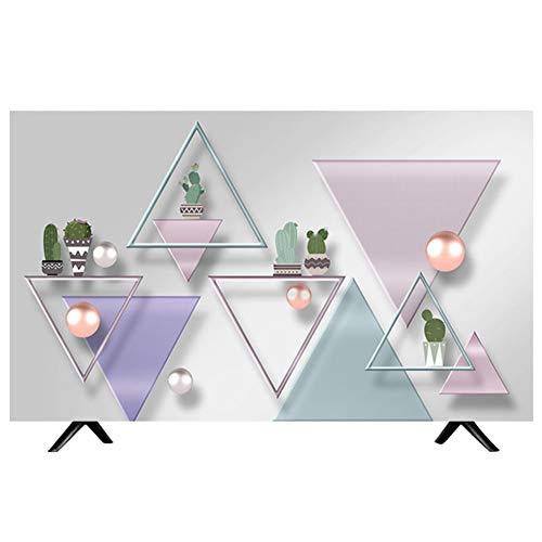 catch-L Interior Moderno Cubierta de TV Cubierta de Polvo Colgando Superficie Televisores (Color : BH32-7, Size : 40-43inch)