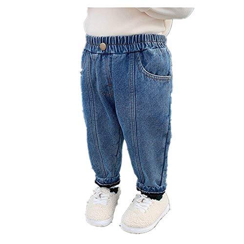 Kinderkleding Knuffel Jeans Winter Nieuwe Jongens Warme Broek Baby Broek