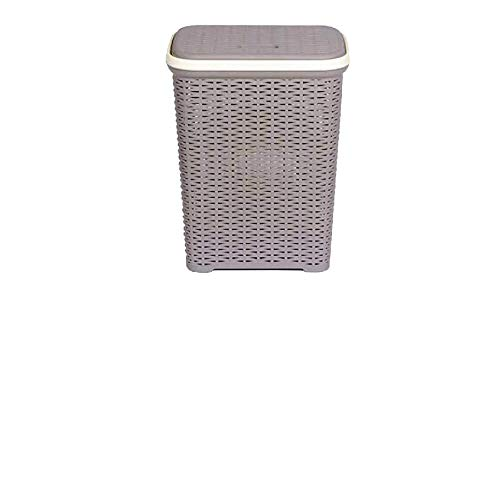 Nilkamal Laundry Basket Grey 50 L