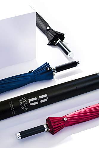 Impara Bruin paraplu met UV- en infrarood blokkering - perfecte bescherming voor de huid