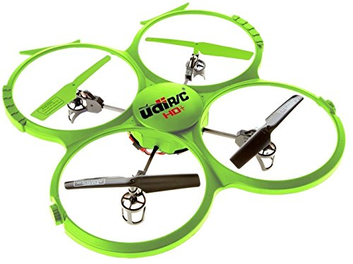 Force1 U818A HD+ RC Drone with Camera for Adults - Long Distance Remote Control Drone Quadcopter with 720P HD Drone Camera, 6-Axis Gyro, Headless Mode, Return Home, 4GB SD Card, and 2 Drone Batteries