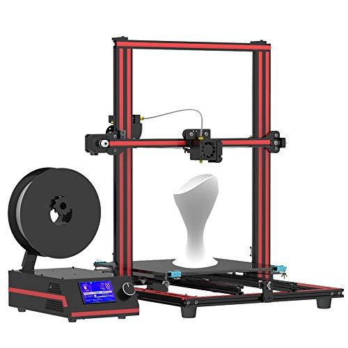 H.Y.FFYH Imprimante 3D X3S Imprimante 3D 330 X 330 X 420mm Profilé en Aluminium Installation Rapide Tronxy X3S Kit Off-Line Impression 3D DIY Kit