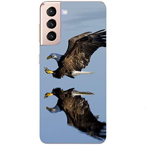 Funda blanda para teléfono móvil con diseño de águila y águila para Samsung Apple Huawei Honor Nokia One Plus Oppo ZTE Xiaomi Google, tamaño: Xiaomi Redmi Note 8 Pro