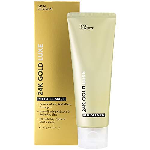 24k Gold Luxe mascarilla peel-off. Anti envejecimiento anti arrugas revitalizante desintoxicante,tonificante