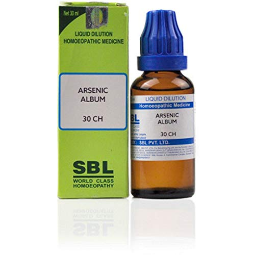 SBL Arsenic Album 30 CH (30ml) Homeo for Gas, Indigestion, Acidity