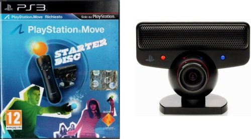 PS3 PLAYSTATION MOVE Starter Disc + eye camera
