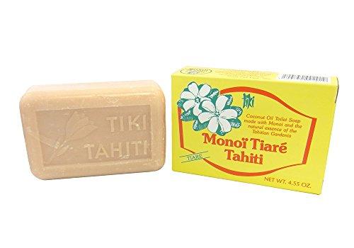 Monoi Tiki Tahiti - Monoi Tiare el aceite de Coco, Jabón De...