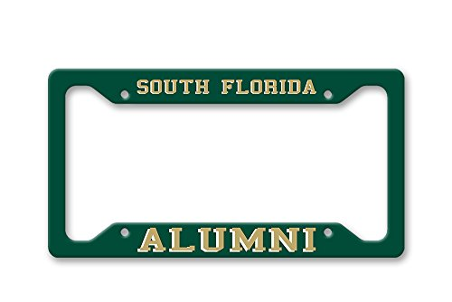 The Turnip Seed Co South Florida Alumni - USF Colors - License Plate Frame LP1541