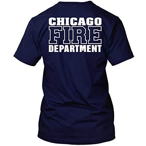 Chicago Fire Dept. - T-Shirt (Version 2) (M, Navy)
