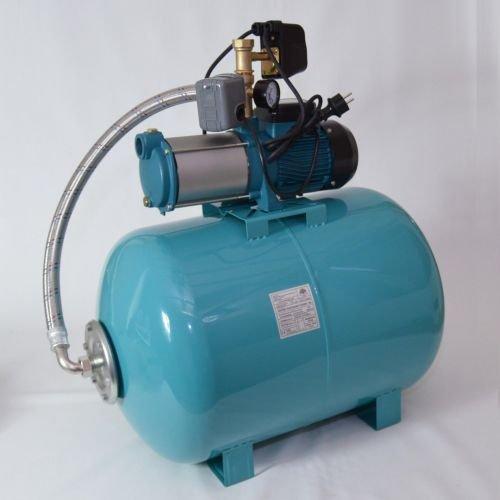 Hauswasserwerk 100 Liter 5-stufige Pumpe MHI1800 + Trockenlaufschutz SK-13