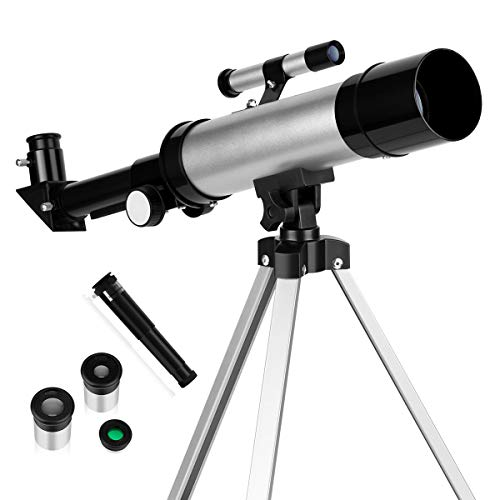 Telescope for Kids Telescopes for Astronomy Beginners Capable of 90x Magnification Includes Two...