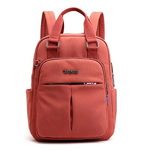 CMZ Backpack Casual Backpack Tide Lady USB Charging Backpack Computer Bag Large Capacity College Style Travel Backpack