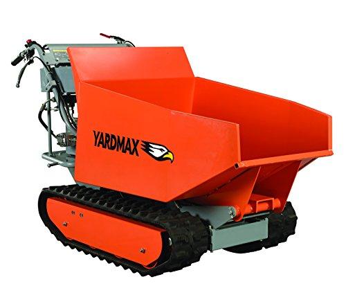 YARDMAX YD8105 Track Barrow with Hydraulic Assist, 1100 lb. Capacity, Briggs CR950, 6.5 hp, 208cc