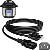 Zonefly Power Cord Compatible for Instant Pot Electric Pressure Cooker, Power Quick Pot, Rice Cooker, Soy Milk Maker, Microwaves and More Kitchen Appliances Replacement Cable
