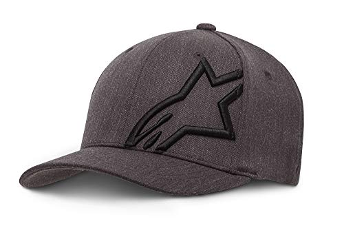 Alpinestars Herren corp shift 2 flexfit Cap Hat/Beanie Corp Shift 2 Flexfit, Grau (Dark Heather Gray/Black ), S/M