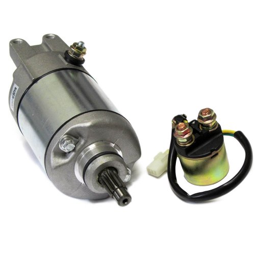 Caltric Starter & Relay Solenoid Compatible With Honda Trx500 Fourtrax Foreman Rubicon 2001-2011