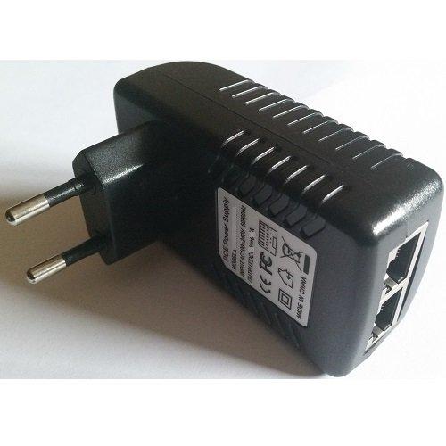 CARGADOR ESP - Ladegerät Aktuelle 24V 1A 1000mA Poe Ersatz für Access Point Wifi GRANDSTREAM GWN7610 Netzadapter Netzteil Replacement